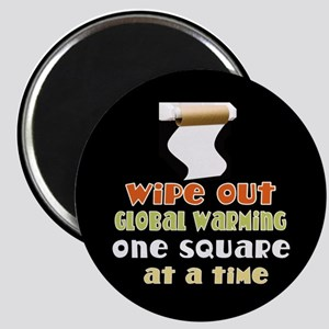 Wipe Out Global Warming Magnet