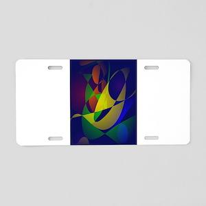 Masquerade Aluminum License Plate