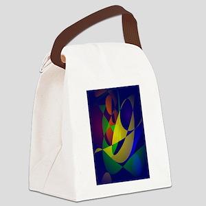 Masquerade Canvas Lunch Bag
