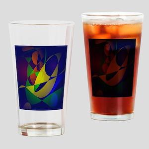 Masquerade Drinking Glass