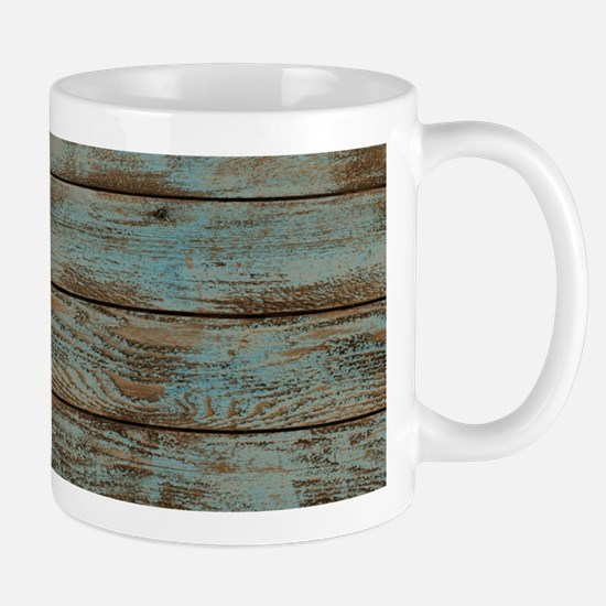 modern cowboy boots barn wood Mugs