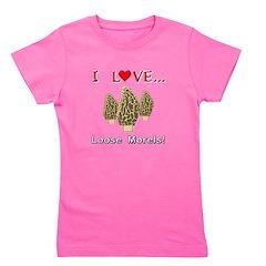 Love Loose Morels Girl's Tee