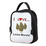 Love Loose Morels Neoprene Lunch Bag