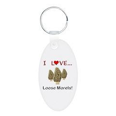 Love Loose Morels Keychains