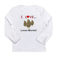 Love Loose Morels Long Sleeve Infant T-Shirt