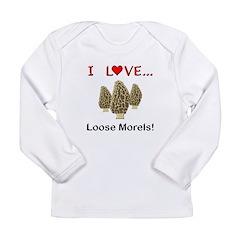 Love Loose Morels Long Sleeve Infant T-Shirt