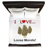 Love Loose Morels King Duvet