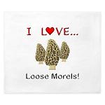 Love Loose Morels King Duvet
