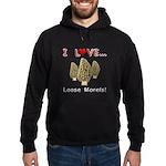 Love Loose Morels Hoodie (dark)