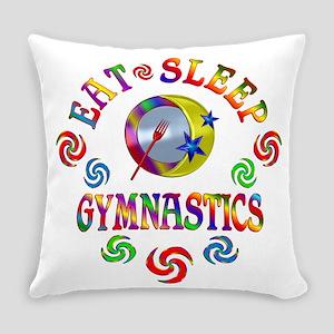 Eat Sleep Gymnastics Everyday Pillow