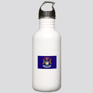 Flag of Michigan Stainless Water Bottle 1.0L