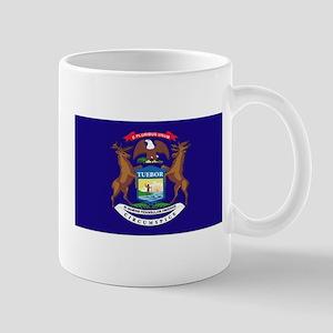 Flag of Michigan Mug