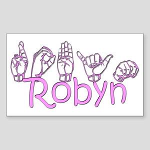 Robyn Rectangle Sticker