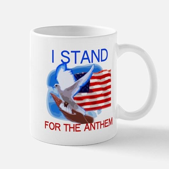 Dove I Stand Anthem Mugs