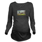 Greetings from Minne Long Sleeve Maternity T-Shirt