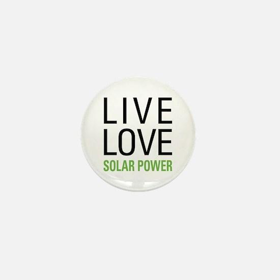 Solar Power Mini Button