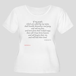 2 Chronicles 7-14 Plus Size T-Shirt