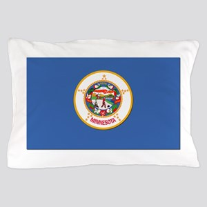 Flag of Minnesota Pillow Case