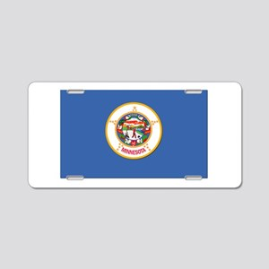 Flag of Minnesota Aluminum License Plate