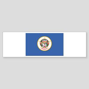 Flag of Minnesota Sticker (Bumper)