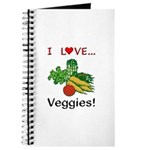 I Love Veggies Journal