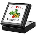 I Love Veggies Keepsake Box