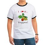I Love Veggies Ringer T