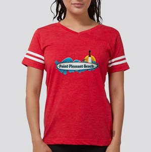 Point Pleasant Beach NJ - Surf Design T-Shirt