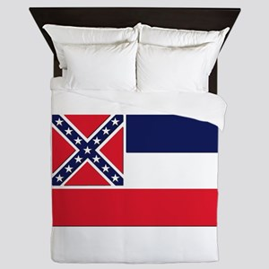 Flag of Mississippi Queen Duvet