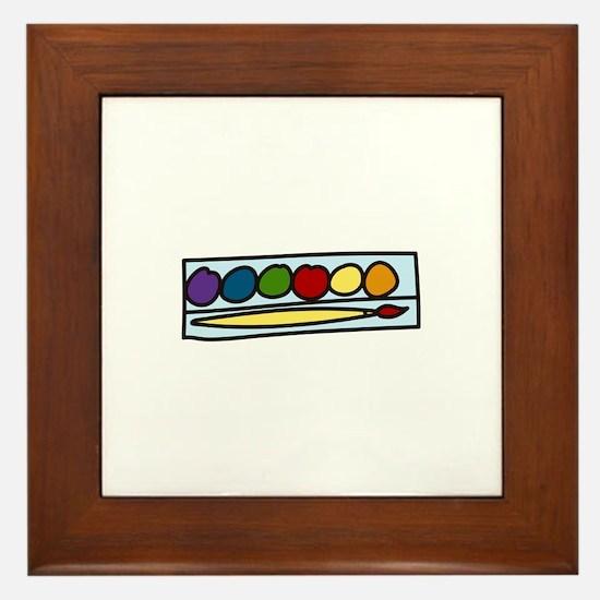 Paint Set Framed Tile