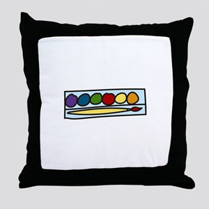 Paint Set Throw Pillow