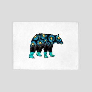 NIGHTLY BEAR 5'x7'Area Rug