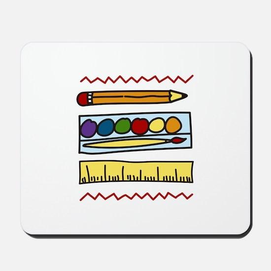 Art Supplies Mousepad