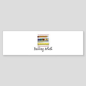 Budding Artist Bumper Sticker