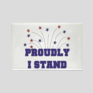 Proudly I Stand Magnets