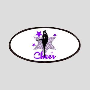 Purple Cheerleader Patches