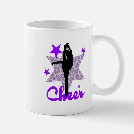 Purple Cheerleader Mug