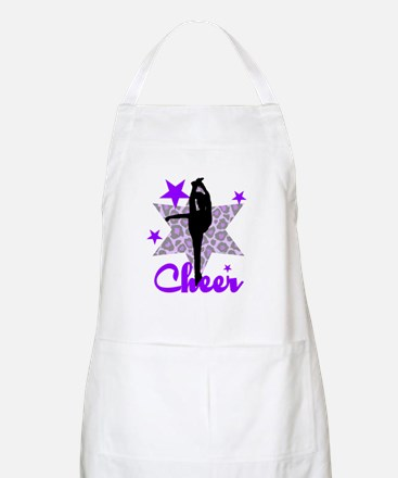 Purple Cheerleader Apron