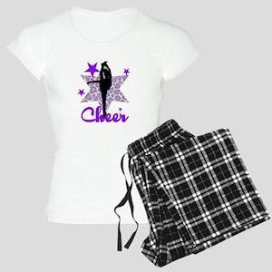 Purple Cheerleader Women's Light Pajamas