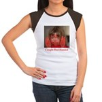 Caught Red Handed Women's Cap Sleeve T-Shirt