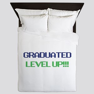 Grad Lvl Up Queen Duvet