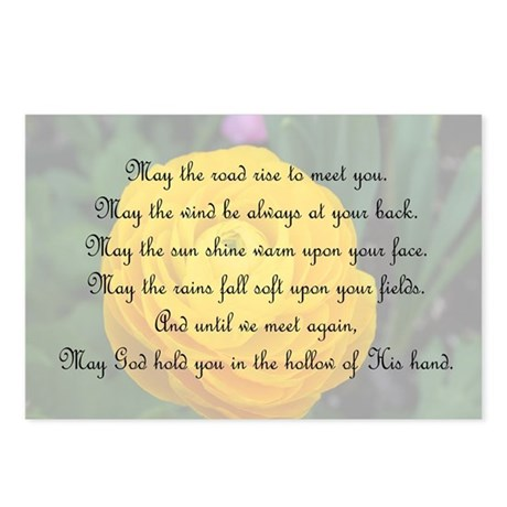 May the Road Rise to You Postcards (Package of 8)