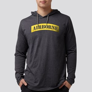 US Army Airborne Mens Hooded Shirt