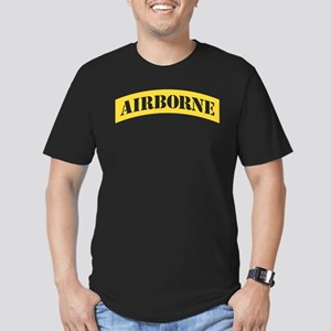 US Army Airborne Men's Fitted T-Shirt (dark)
