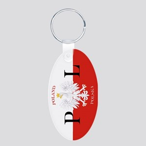 Polish Flag Poland Polska Keychains