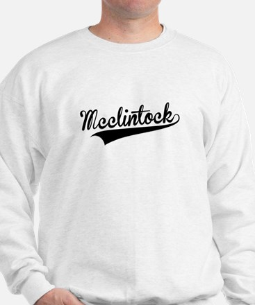Mcclintock, Retro, Sweatshirt