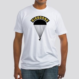 US Army Airborne Fitted T-Shirt