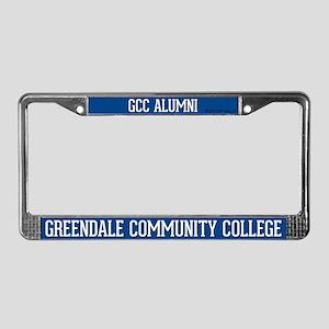 Greendale Community College License Plate Frame
