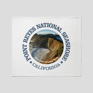 Point Reyes NS Throw Blanket