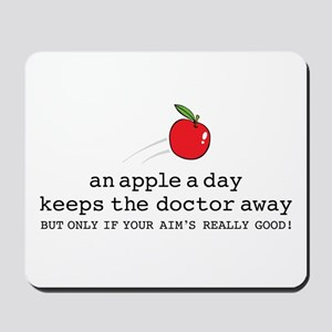 Apple A Day Mousepad